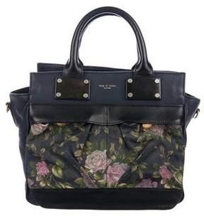 Rag & Bone Floral Small Pilot Bag