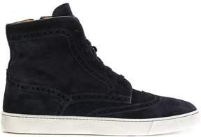 Santoni hi-top shoe-sneakers