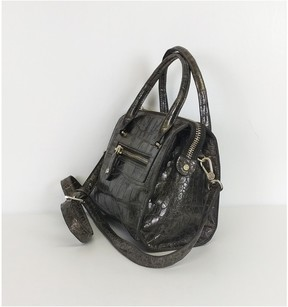 Eric Javits Metallic Brown Mini Bag