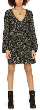 Denim & Supply Ralph Lauren Floral Print Bell Sleeve Dress.
