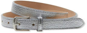 L.L. Bean Signature Women's Leather 3/4 Belt