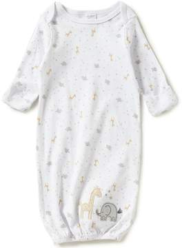 Starting Out Baby Boys Newborn-6 Months Animal-Appliqu Star Print Gown