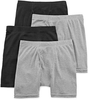 Hanes Ultimate 4-pk. Boxer Briefs - Boys 6-20