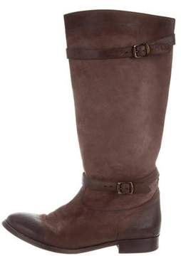 Belstaff Suede Riding Boots