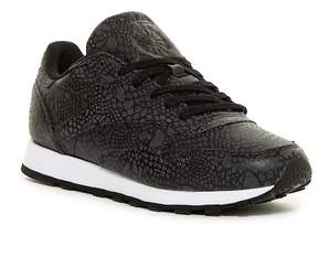 Reebok Classic Leather Reflective Athletic Sneaker