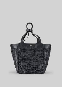 Giorgio Armani Tote Bag In Napa Leather
