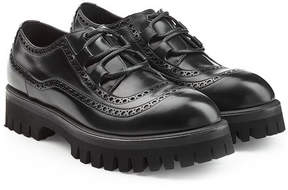 Dolce & Gabbana Leather Lace-Ups with Chunky Sole