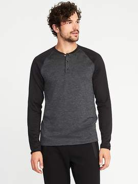 Old Navy Go-Warm Thermal-Knit Henley for Men