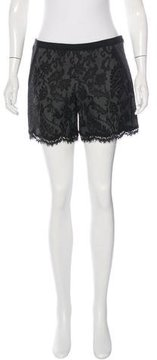Andrew Gn Lace Mini Shorts