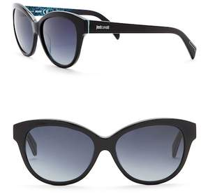Just Cavalli Modified Cat Eye 57mm Sunglasses