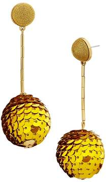 BaubleBar Sequin Ball Drop Earrings