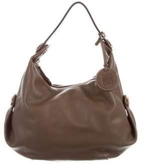 Loewe Leather Hobo Bag