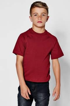 boohoo Boys Basic Crew Neck T-Shirt
