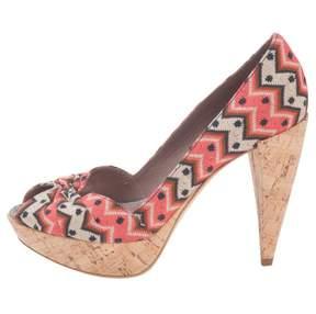Missoni Multicolour Leather Heels