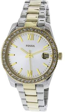 Fossil Women's Scarlette ES4319 Silver Stainless-Steel Japanese Quartz Fashion Watch