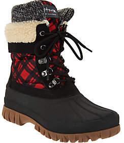 Cougar As Is Waterproof Lace-up Boots w/Fleece Lining - Creek