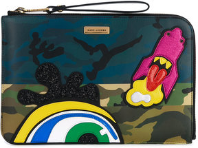 Marc Jacobs Julie Verhoeven Camo clutch - MULTICOLOUR - STYLE