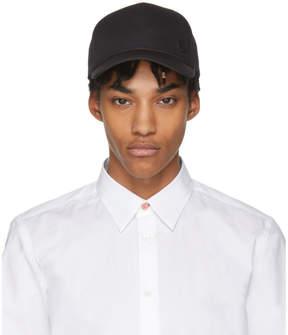 Paul Smith Black Basic Baseball Cap