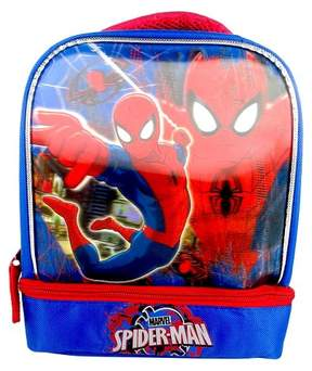 Marvel Spider-Man 7.5 3D Drop Bottom Lunch Bag - Blue