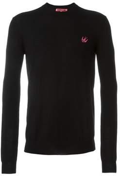 McQ Men's Black Wool Sweater.