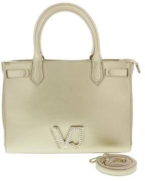 Versace EE1VRBBC9 Light Gold Satchel Bag