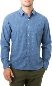 7 Diamonds Men's Madison Blues Woven Shirt