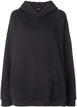 Yeezy oversized drawstring hoodie