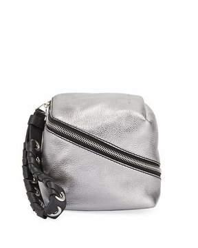 Proenza Schouler Zip Mini Metallic Cube Wallet