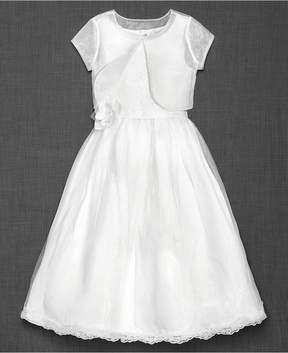 Blush by Us Angels 2-pc. Sleeveless Dress & Bolero, Big Girls (7-16)