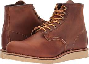 Red Wing Shoes 6 Rover Round Toe Men's Lace-up Boots