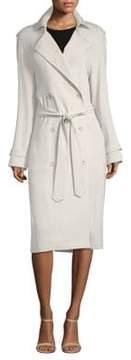 Elie Tahari Tiana Double-Breasted Coat