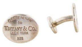 Tiffany & Co. & Co. Return to Cufflinks
