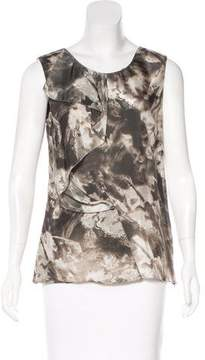CNC Costume National Silk Printed Top