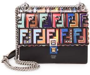Fendi Women's Embellished Flap Crossbody Bag