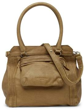 Liebeskind Berlin Malavi Front Pocket Leather Shoulder Bag