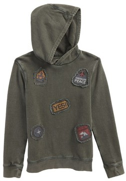 Tucker + Tate Toddler Boy's Patch Hoodie