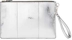 Ralph Lauren Mirrored Ayers Clutch