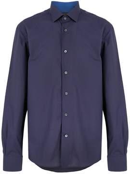 Corneliani buttoned shirt