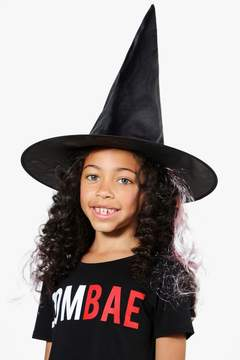 boohoo Girls Witch Hat With Hair