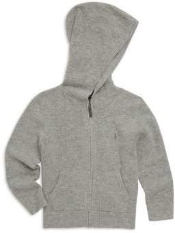 Ralph Lauren Boy's Hooded Knit Jacket