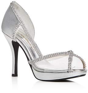 Caparros Women's Kafka Embellished High-Heel Platform Sandals