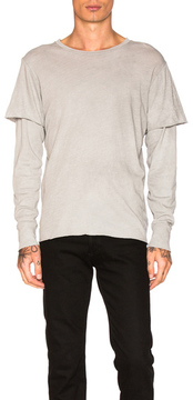 NSF Liam Shirt in Gray.