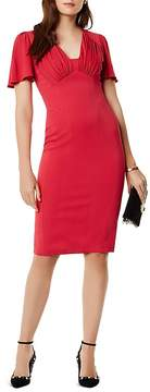 Karen Millen Gathered Detail Midi Dress