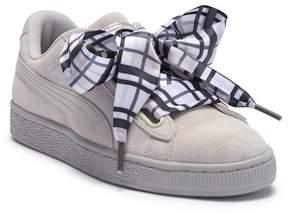 Puma Suede Heart Plaid Sneaker
