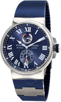 Ulysse Nardin Marine Chronometer Automatic Men's Rubber Watch
