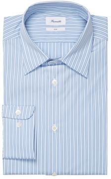 Façonnable Men's Club Fit Cotton Spread Collar Dress Shirt