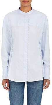 3.1 Phillip Lim Women's Imitation-Pearl-Embellished Cotton Blouse
