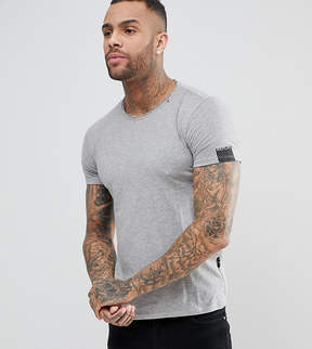 Replay Loose Neck T-Shirt Gray