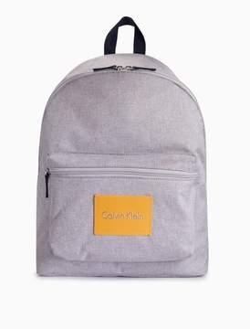 Calvin Klein heathered campus backpack
