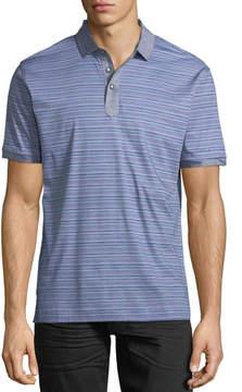 Robert Graham Soto Striped Polo Shirt